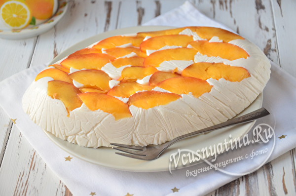 застывший десерт