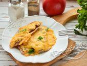 Куриное филе в духовке с сыром и грибами