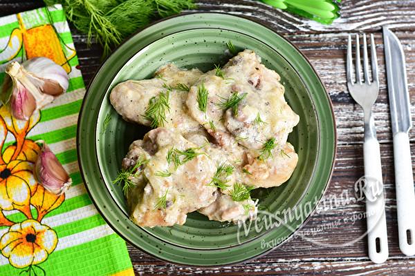 курица по-узбекски