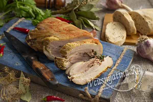 свиное прессованное мясо