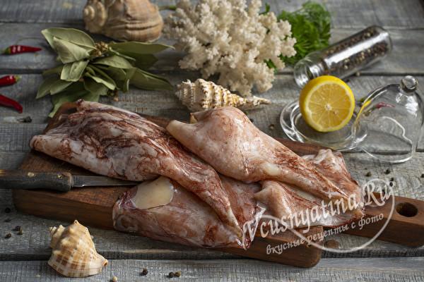 кальмары для салата