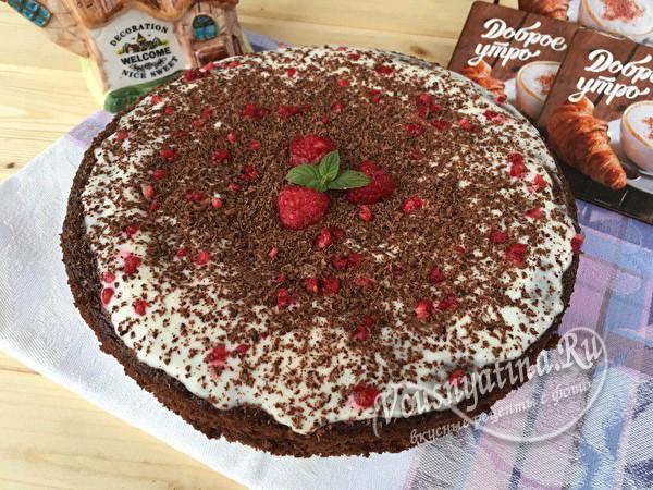 шоколадный пирог-торт