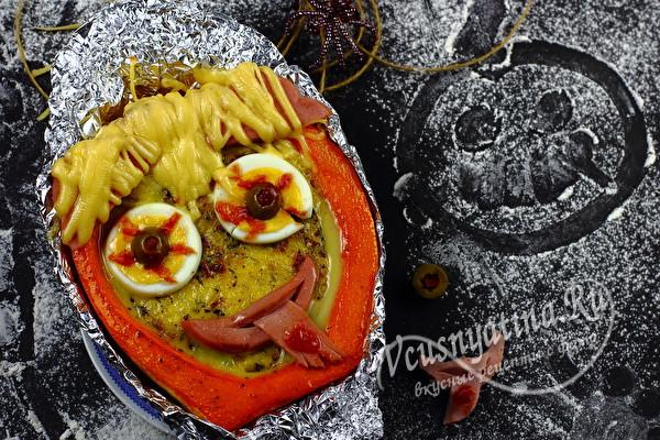 завтрак на Хеллоуин