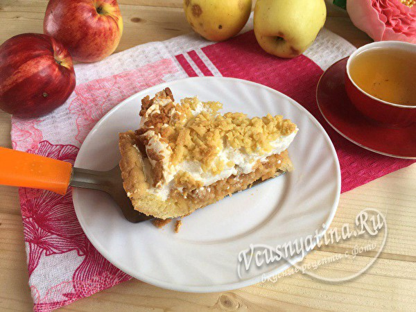 "Пирог ""Мечта"" с яблоками"
