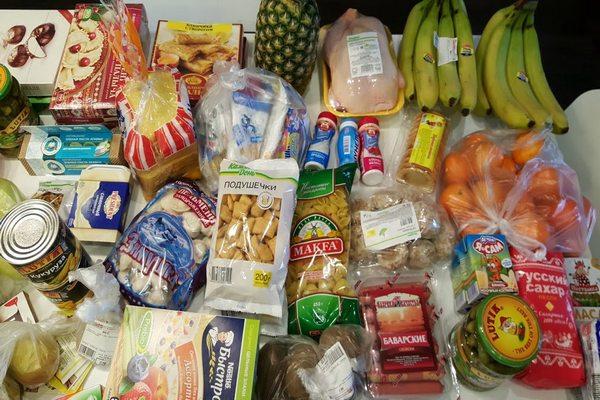 продукты на месяц