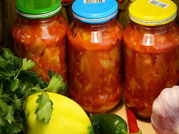 заправка из томатов и перца