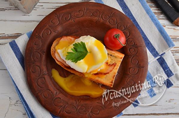 идеальный завтрак с яйцом