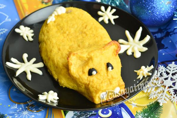 картофельный поросенок