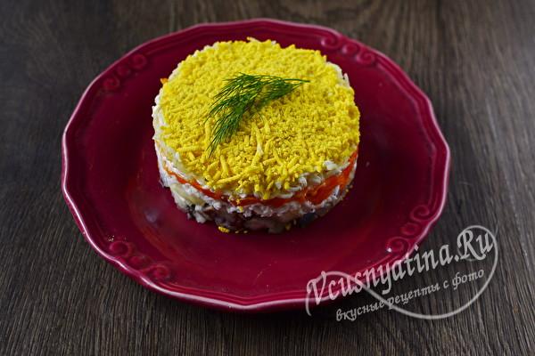 Салаты с рыбой на Новый год 2021 - простые и вкусные рецепты для новогоднего стола