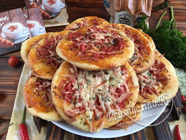 готовая мини пицца