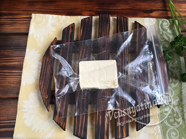 сыр в пакете
