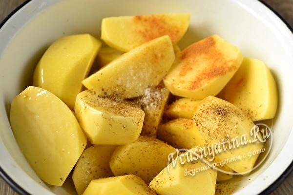 приправляем картошку