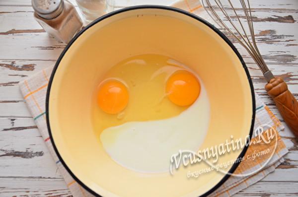 яйца и кефир