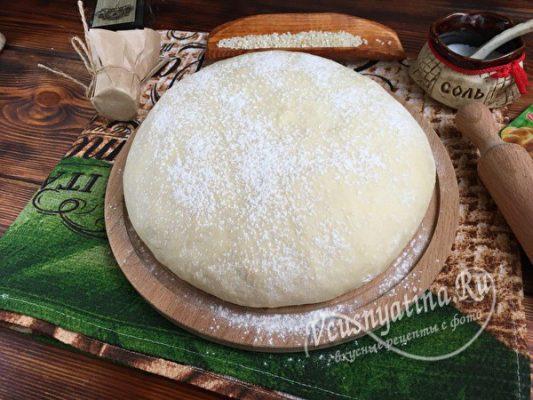 сдобное тесто на пирожки