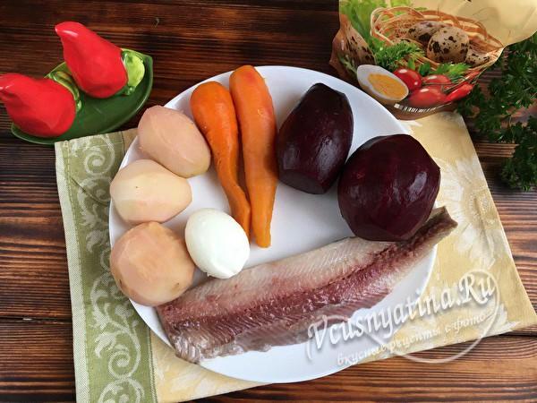 продукты салата
