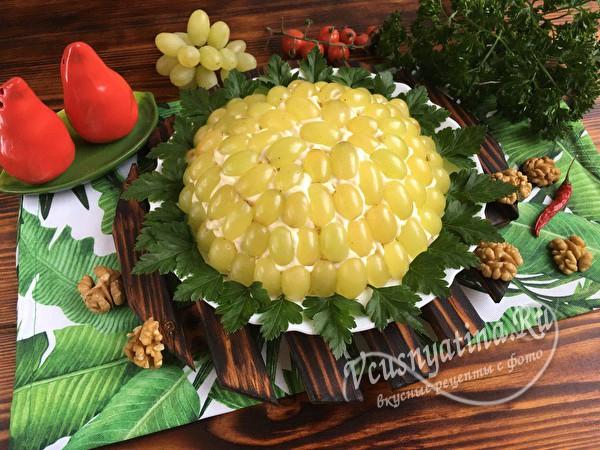 """праздничный салат """"Тиффани"""""""