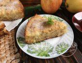 """Пирог """"Три стакана"""" с яблоками"""