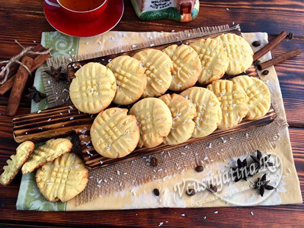 домашнее быстрое печенье