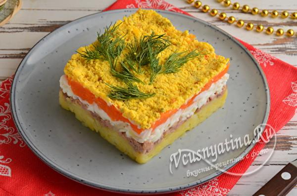"""Салат """"Мимоза"""" на Новый год 2021. Интересные рецепты для новогоднего стола"""