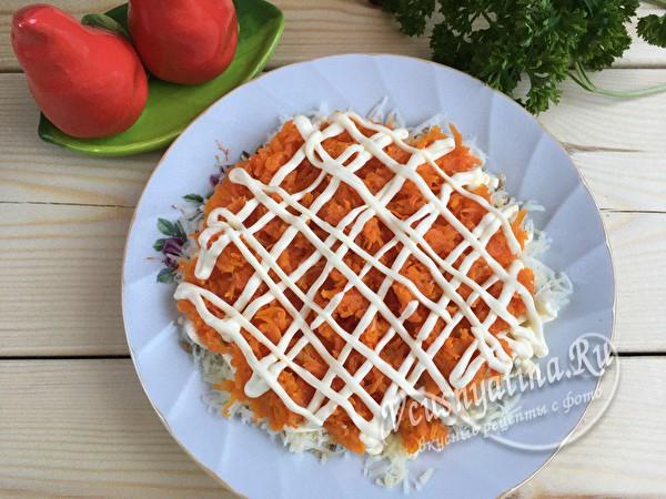 морковка с майонезом