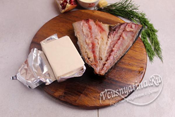 сыр и копченая рыба