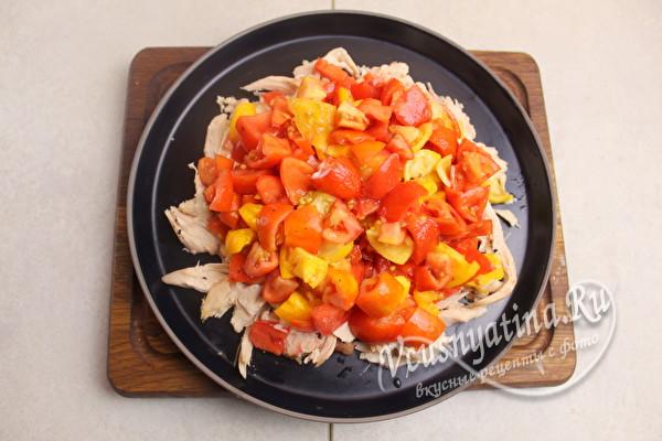 положить томаты