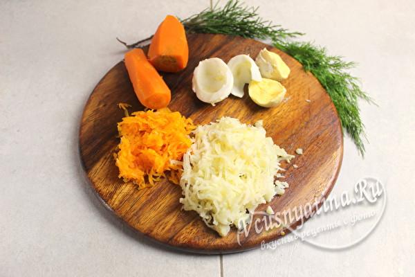 тертая картошка