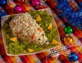 Салат-закуска на Новый год Крысы