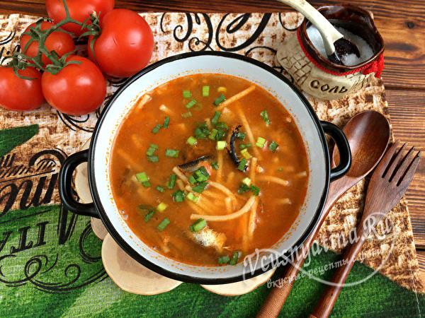 суп с килькой