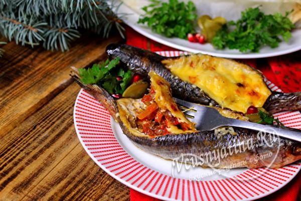 подавать порционно рыбу