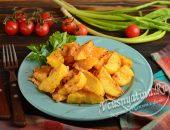 Хрустящие дольки картофеля