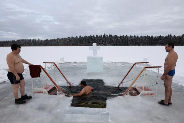 безопасность при купании в купели