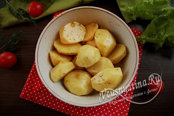 замариновать картофель