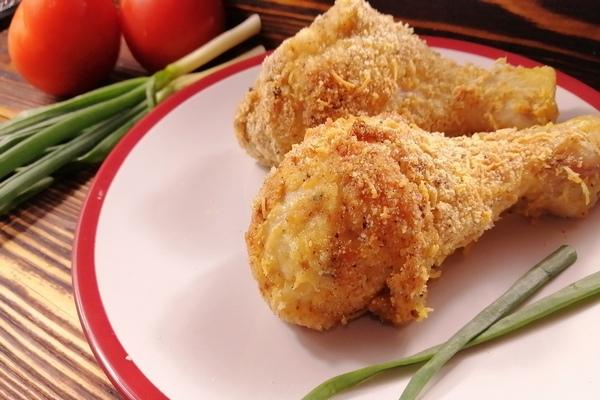 Куриные ножки и крылья в духовке с хрустящей корочкой