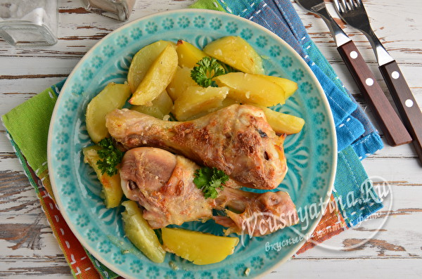 блюдо из курицы с картошкой