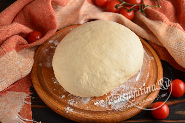 готовое тесто на дрожжах