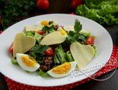 салат с тунцом на день Святого Валентина