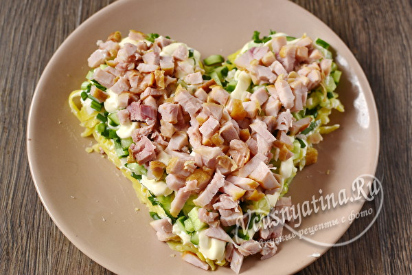 Салаты на день Влюбленных. Простые и вкусные рецепты салатов на день Святого Валентина