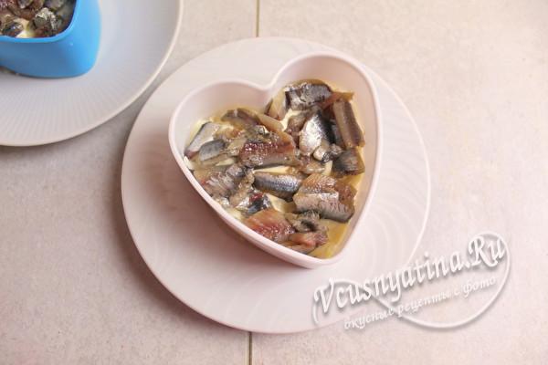 слой рыбы