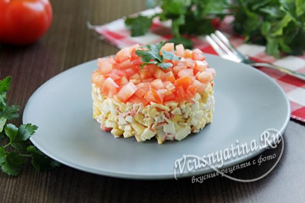 Салат красная шапка