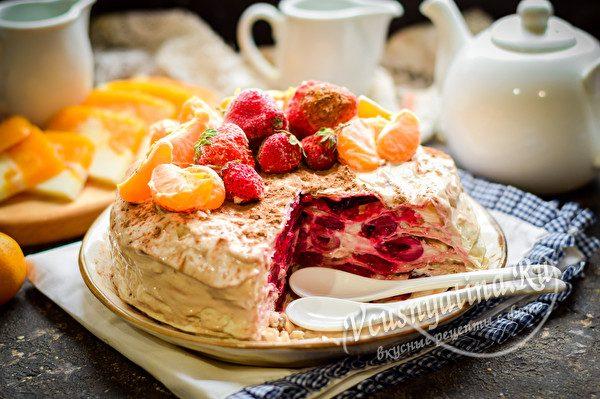 тортик из лаваша