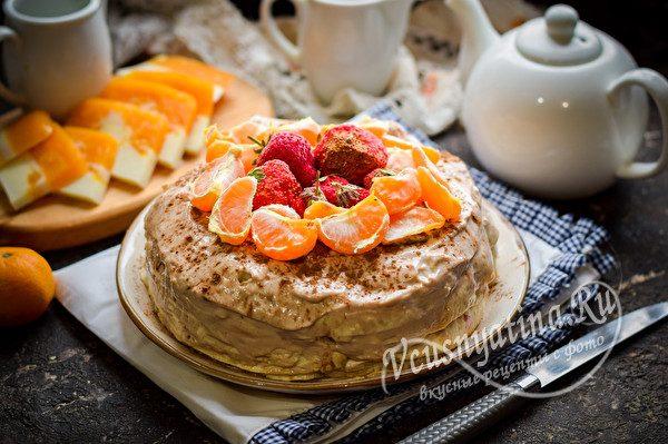 готовый тортик без выпечки