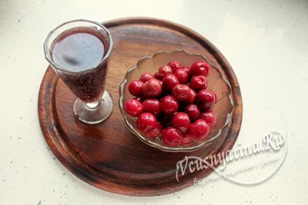 вино и вишня
