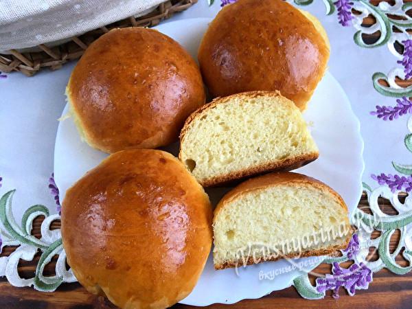 ароматные булочки по 9 копеек