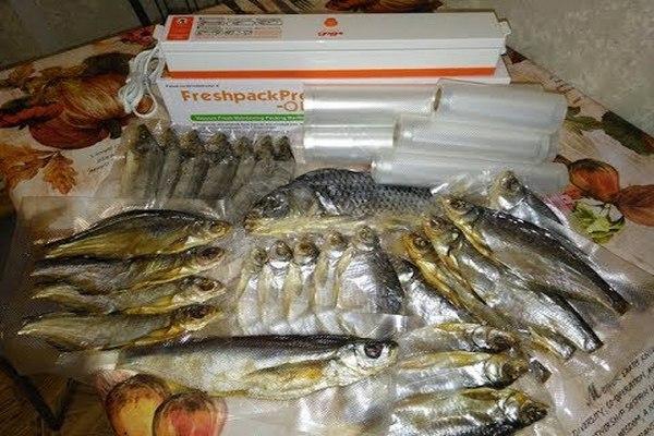 упаковка рыбы для отправки