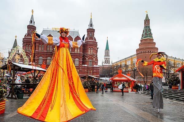Праздник Масленица 2021 в Москве - программа гуляний