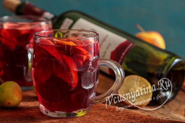фруктовый напиток из вина