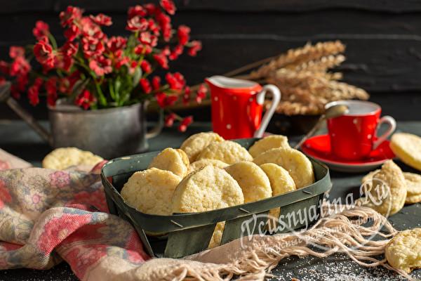 Печенье Слойка с творогом