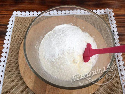 сметана и сахар