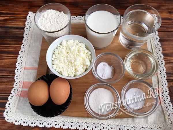 продукты для блинов